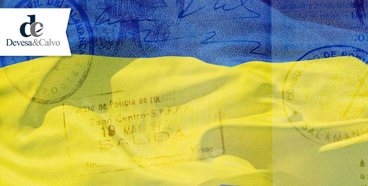 exención del visado en ucrania