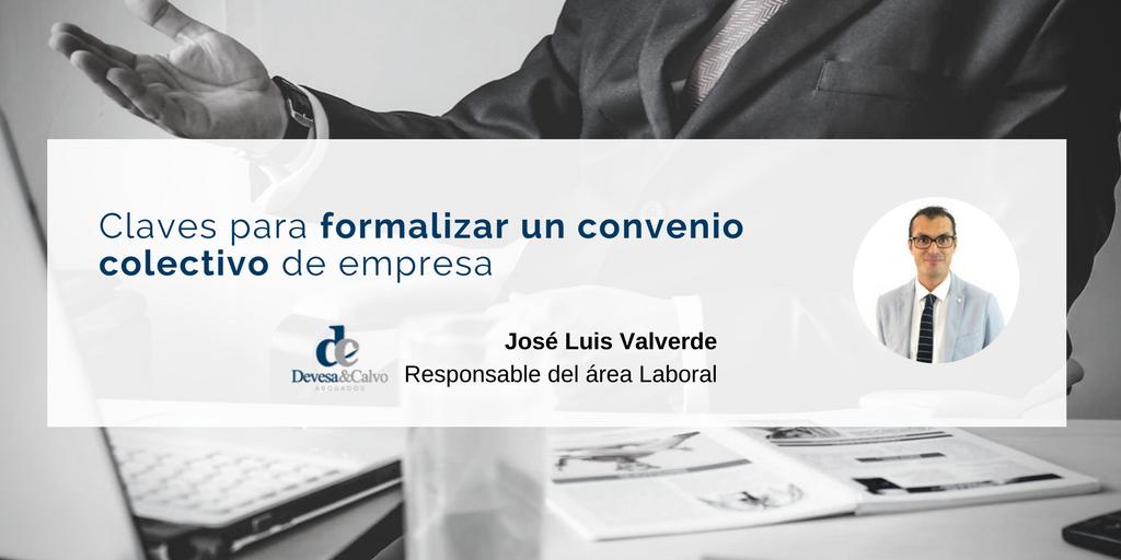 Convenio colectivo de empresa claves para su formalizaci n for Convenio colectivo de oficinas y despachos valencia