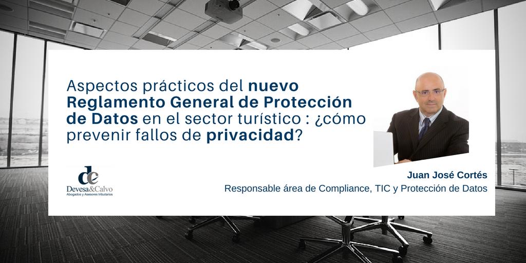RGPD en el sector turístico: cómo prevenir fallos de privacidad