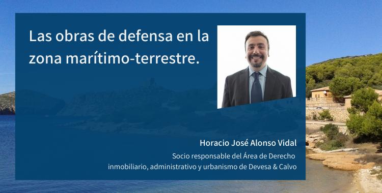 Las obras de defensa en la zona marítimo-terrestre