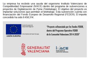 Fondos Feder - Devesa y Calvo